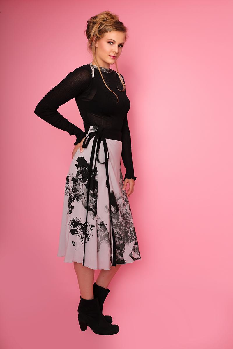 Stoffe von Cora Maurer, Kleider von Cascade